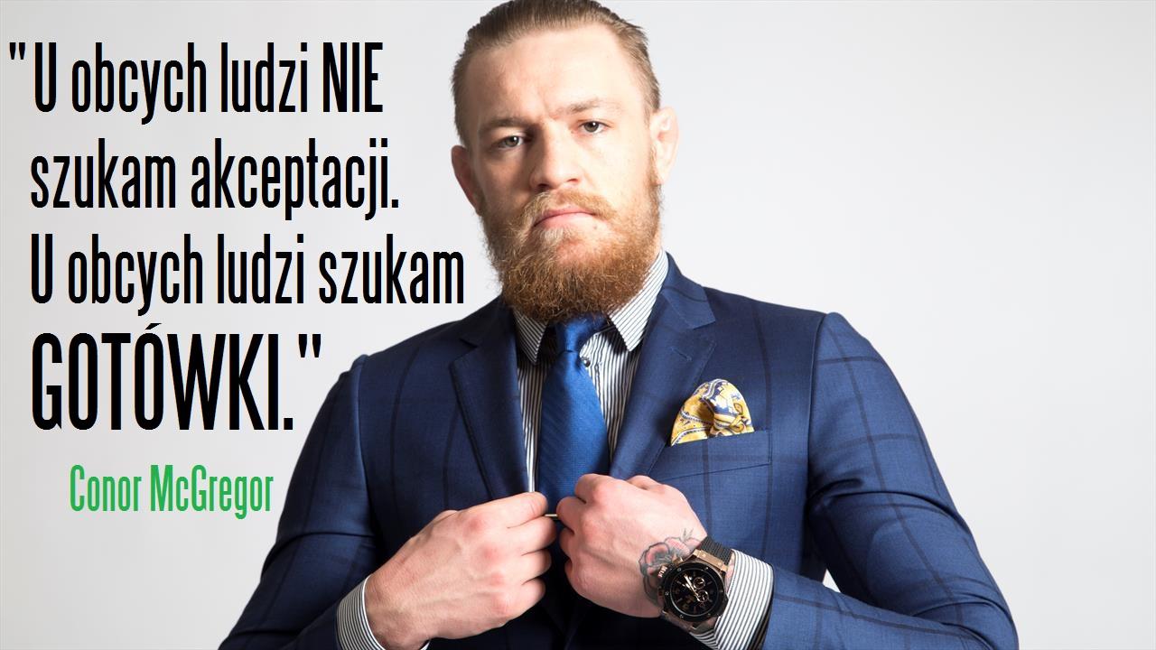 Zgadnij dlaczego Conor jest najlepiej zarabiającym zawodnikiem MMA?